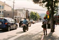 Near the Castro.