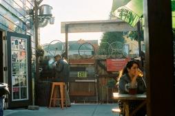 Telegraph Beer Garden, Oakland.