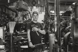 Joseph Karr at Bohemian Blacksmith.