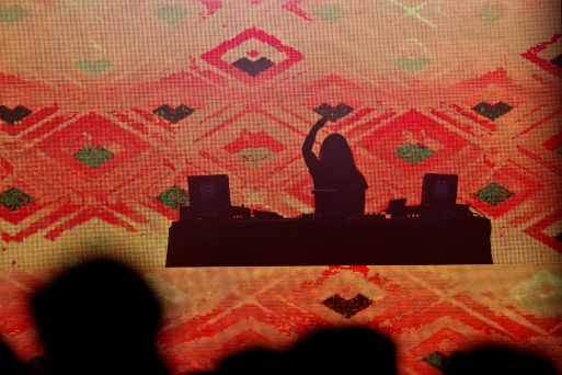 Bassnectar plays a set at the Bay Area Vibez Festival at the Middle Harbor Shoreline Park, Sunday, Sept. 28, 2015. Photo by Erin Baldassari/East Bay Express.