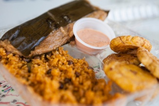 20151223 20151223 pork pasteles with plantains and rice_EB2w
